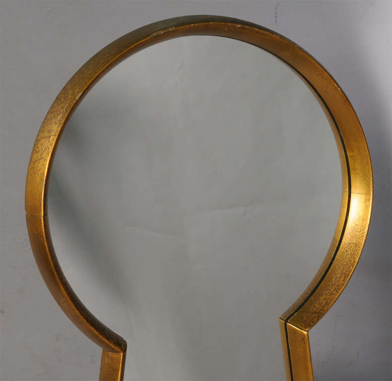 American Keyhole Mirror from Estate of Artist Peter Driben For Sale