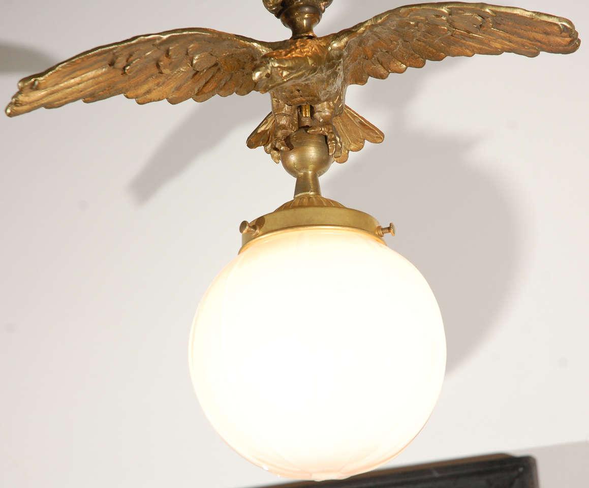 Brass Eagle Pendant 3