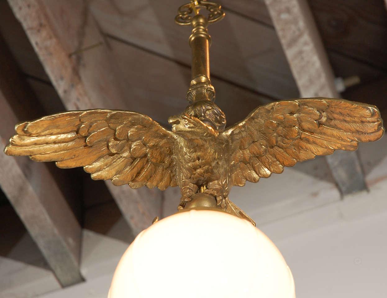 Brass Eagle Pendant 6