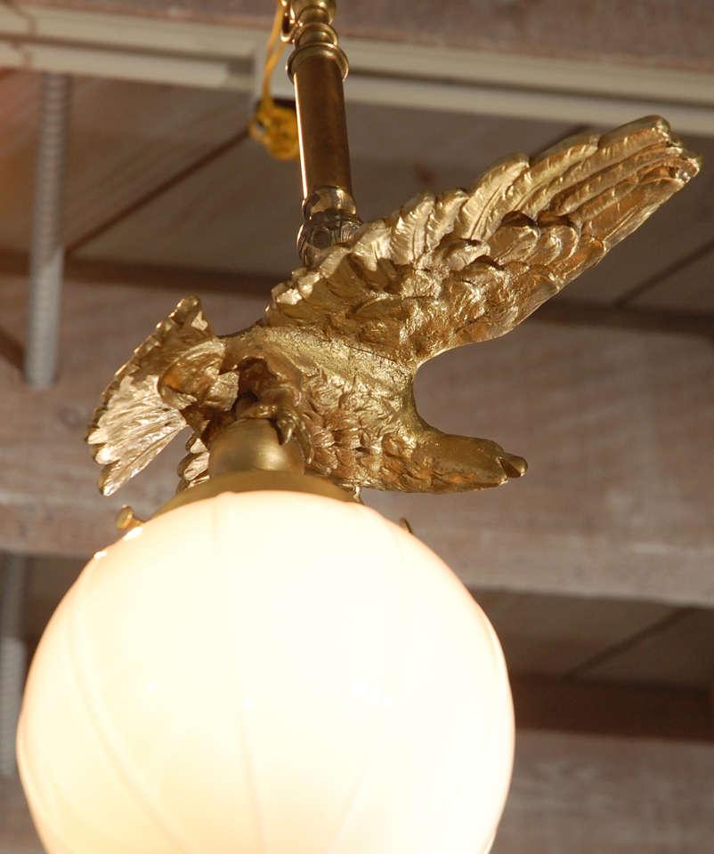 Brass Eagle Pendant 7