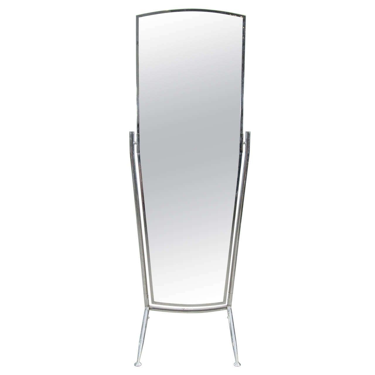 Full length floor mirror wolfgang butner berlin at 1stdibs for Cool full length mirror