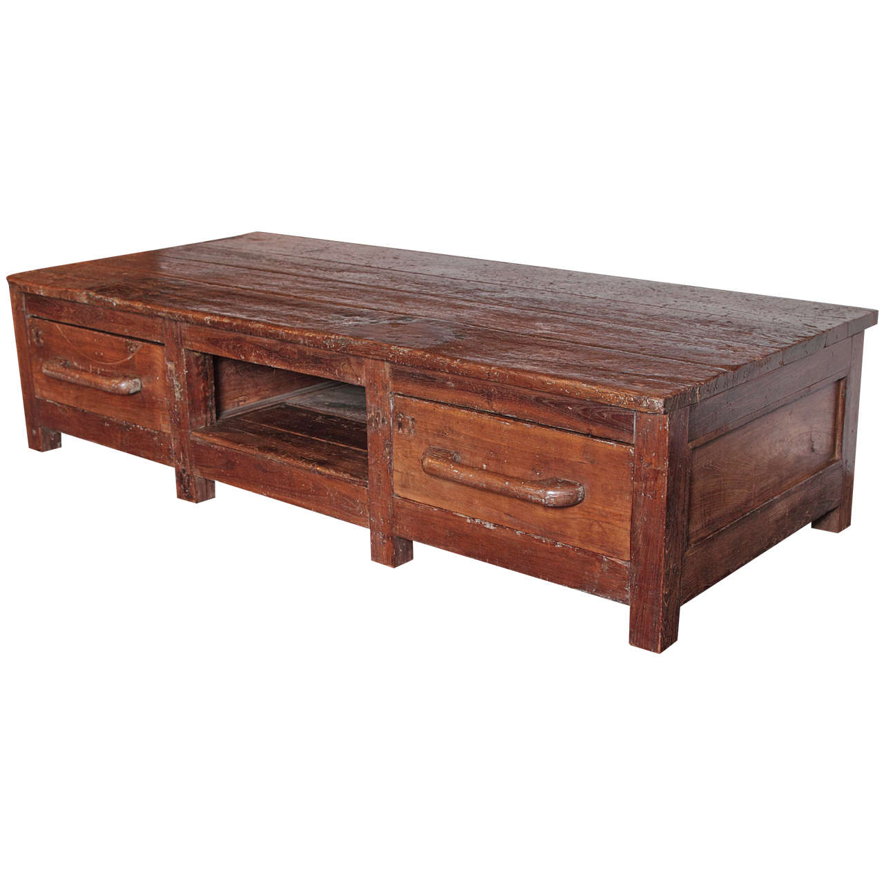 Primitive wabi sabi coffee table at 1stdibs primitive wabi sabi coffee table 1 geotapseo Image collections