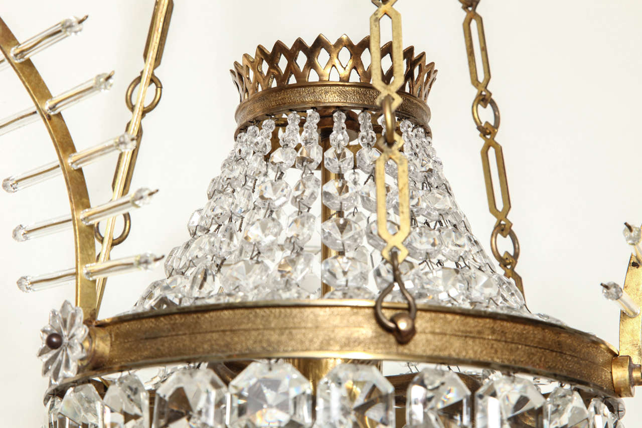 A French Louis XVI style Pendant Fixture 8