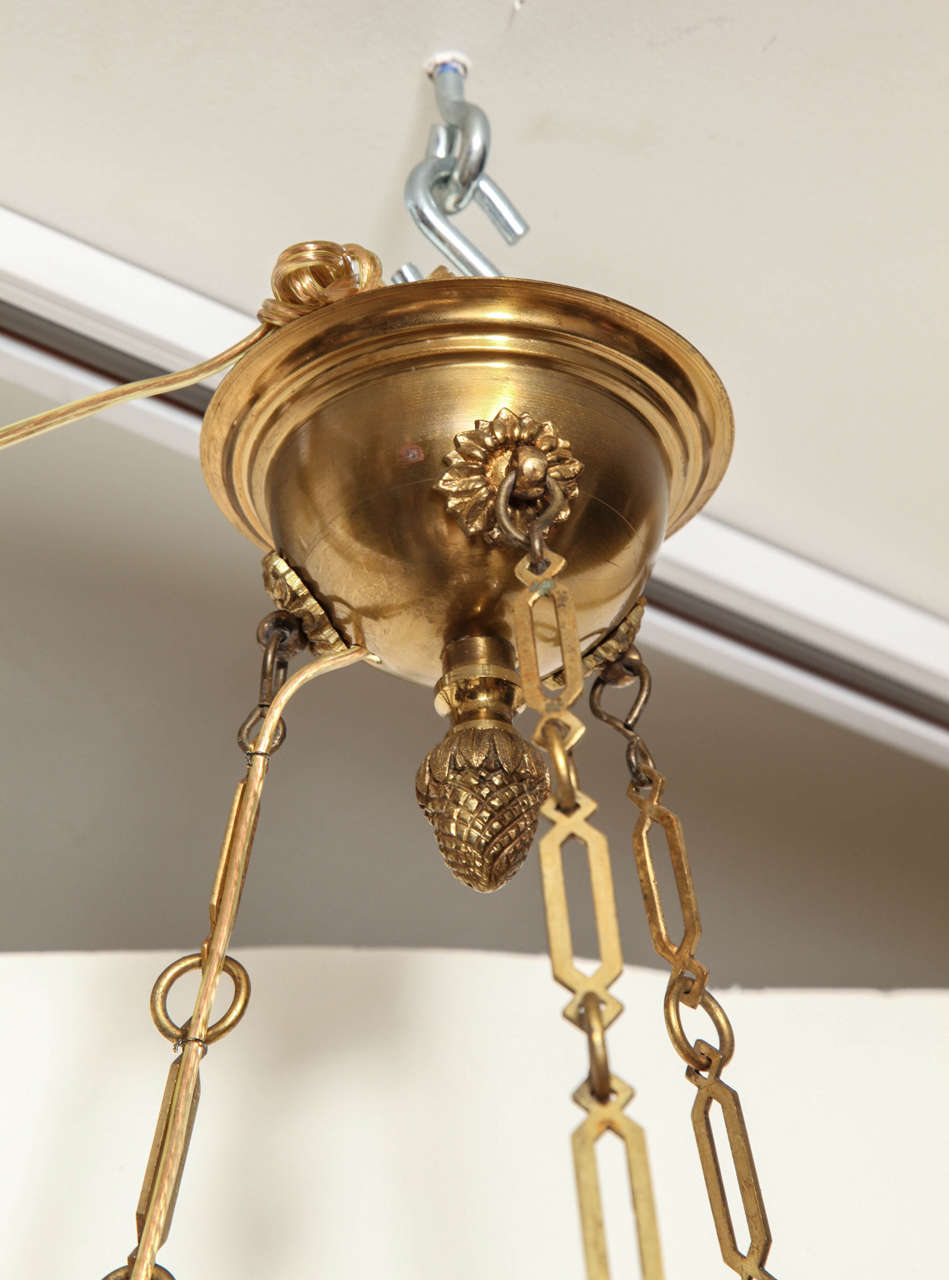 A French Louis XVI style Pendant Fixture 9