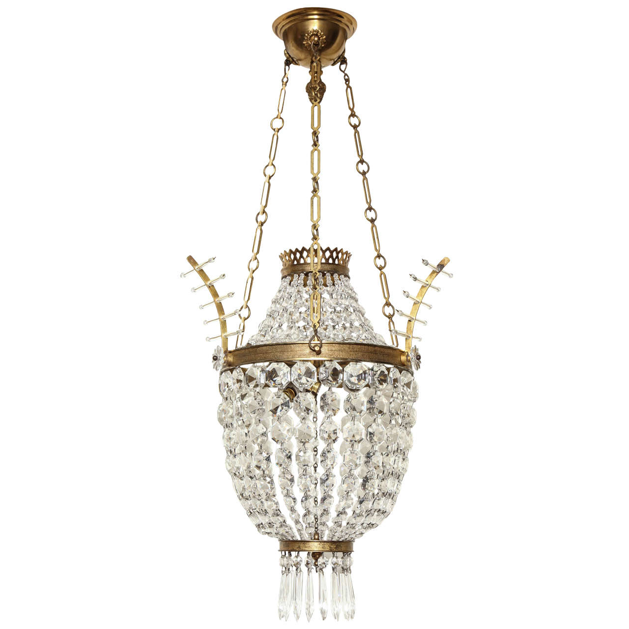 A French Louis XVI style Pendant Fixture 1