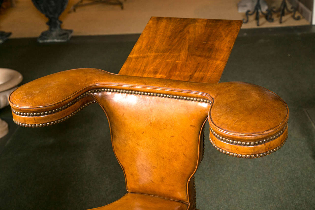19th Century English Reading Chair For Sale At 1stdibs
