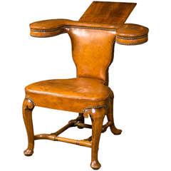 19th century english reading chair