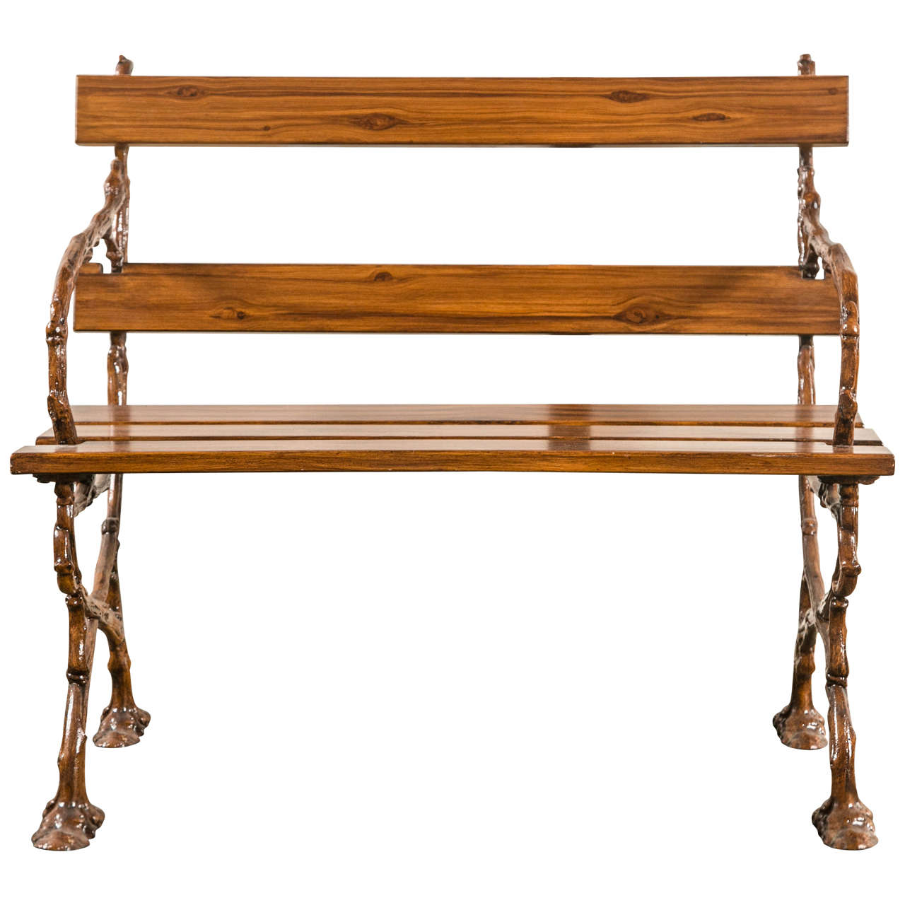 french cast iron bench for sale at 1stdibs