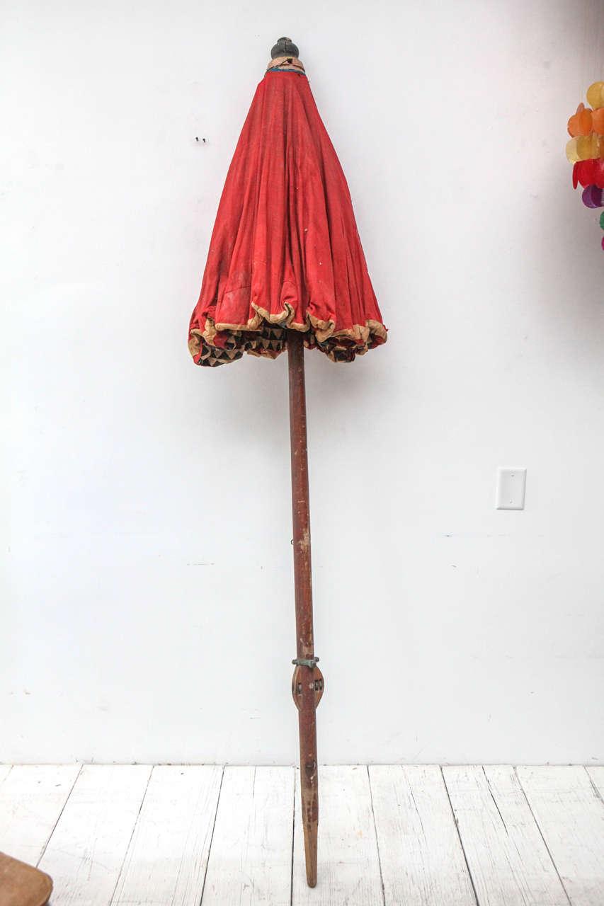 Moroccan Brightly Stitched Umbrella 5