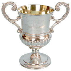 Iron Steam Boat Company Sterling Silver Presentation Cup