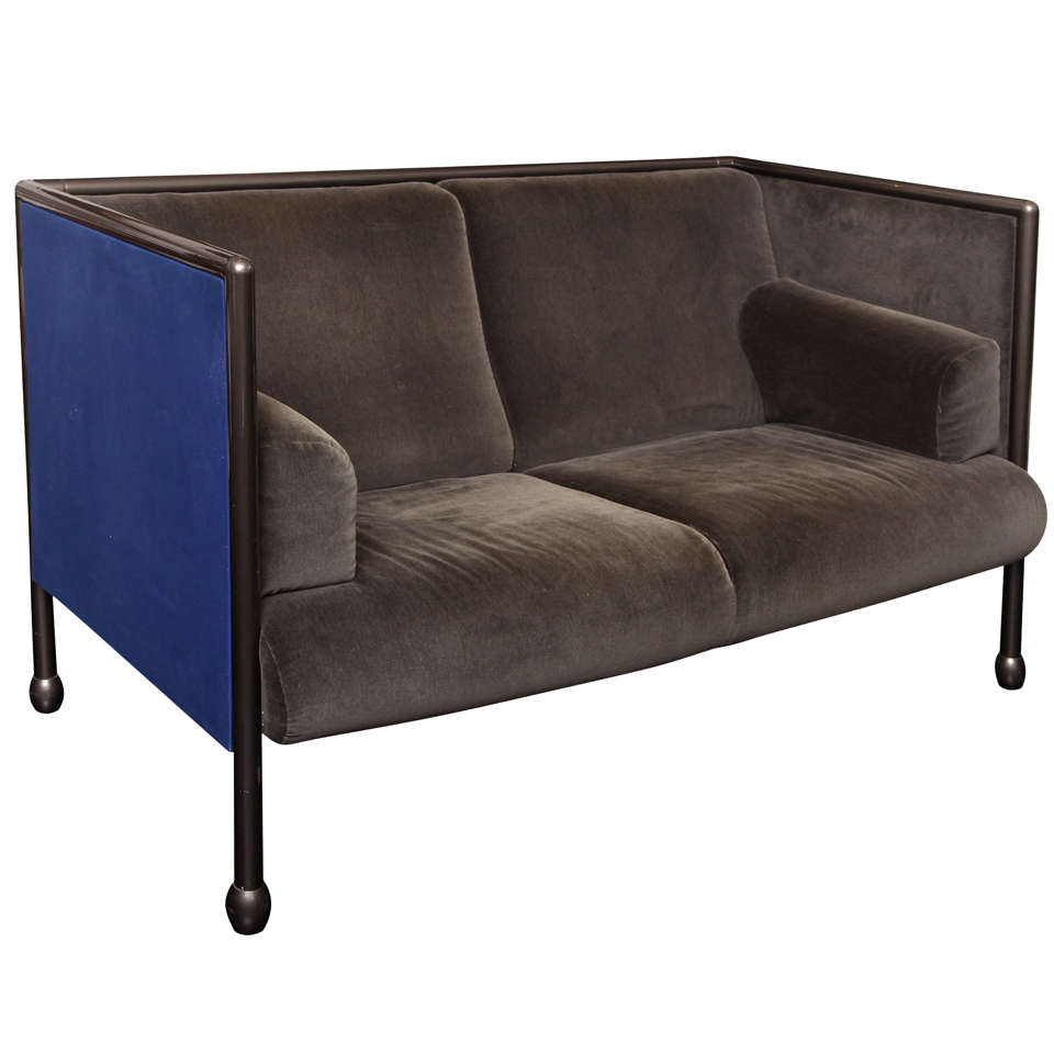 "20th Century ""Cassini"" Two-Seat Sofa"