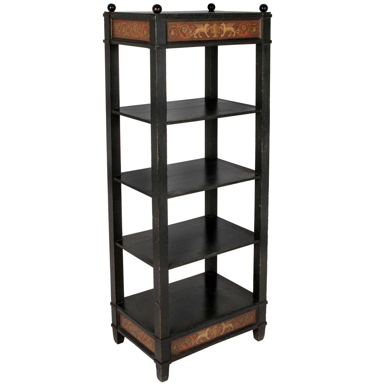 danish golden age etagere for sale at 1stdibs. Black Bedroom Furniture Sets. Home Design Ideas