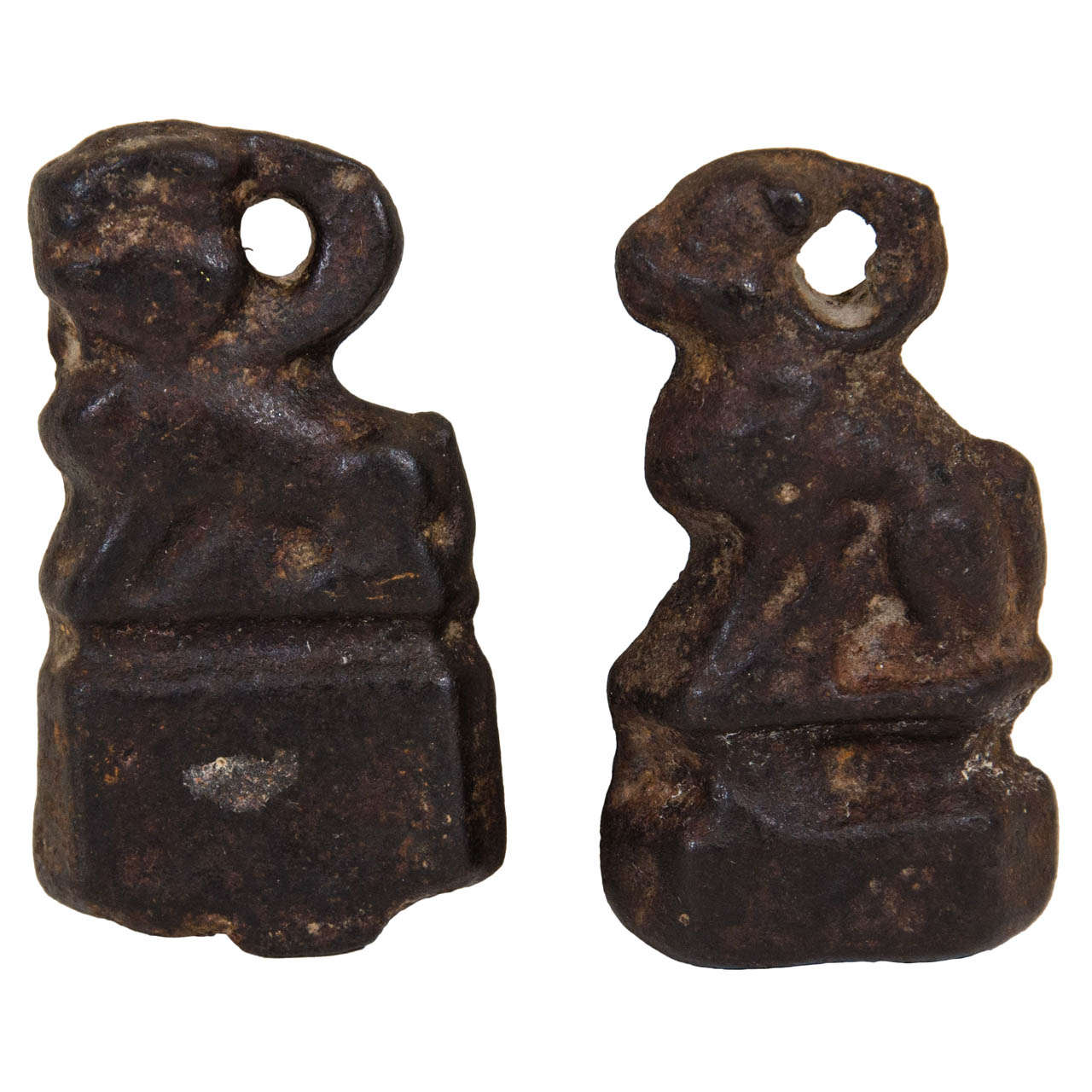 19th Century Cast Iron Weight Measures