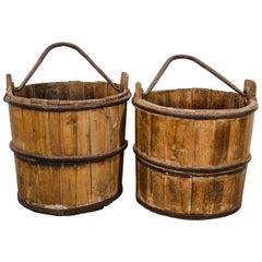 Cypress Water Buckets