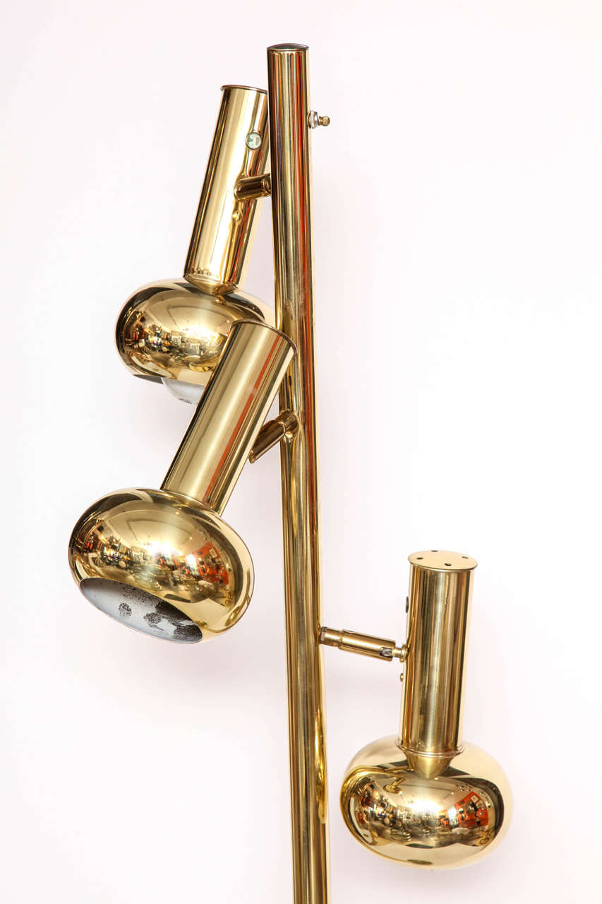 Brass Floor Lamp At 1stdibs