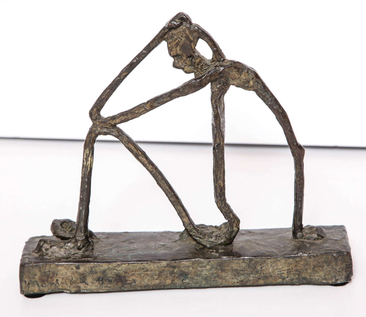 Hammered Sculpture by Marvin Bell For Sale