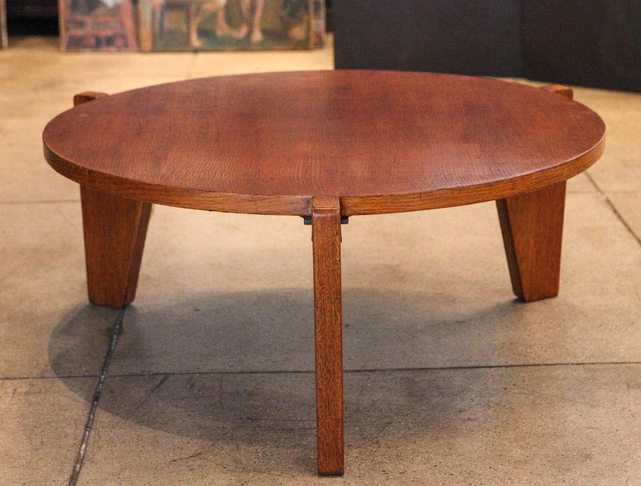 Jean prouve gueridon bas coffee table ateliers jean prouve at 1stdibs - Jean prouve coffee table ...