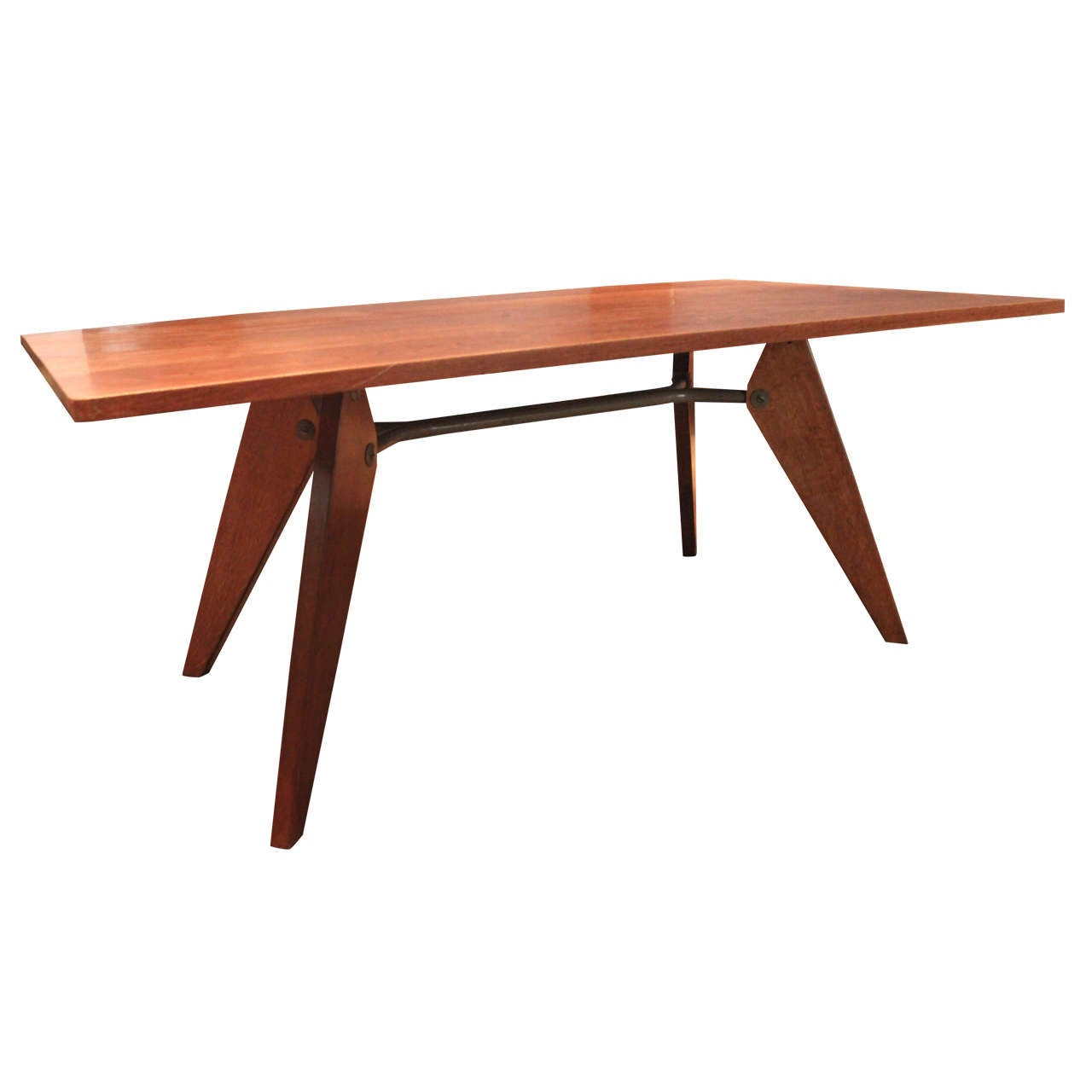 Jean Prouve Demountable Dining Table Jean Prouve Ateliers 1950 At 1stdibs