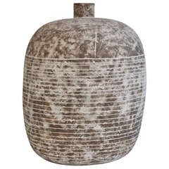 Large Stoneware Vase by Claude Conover