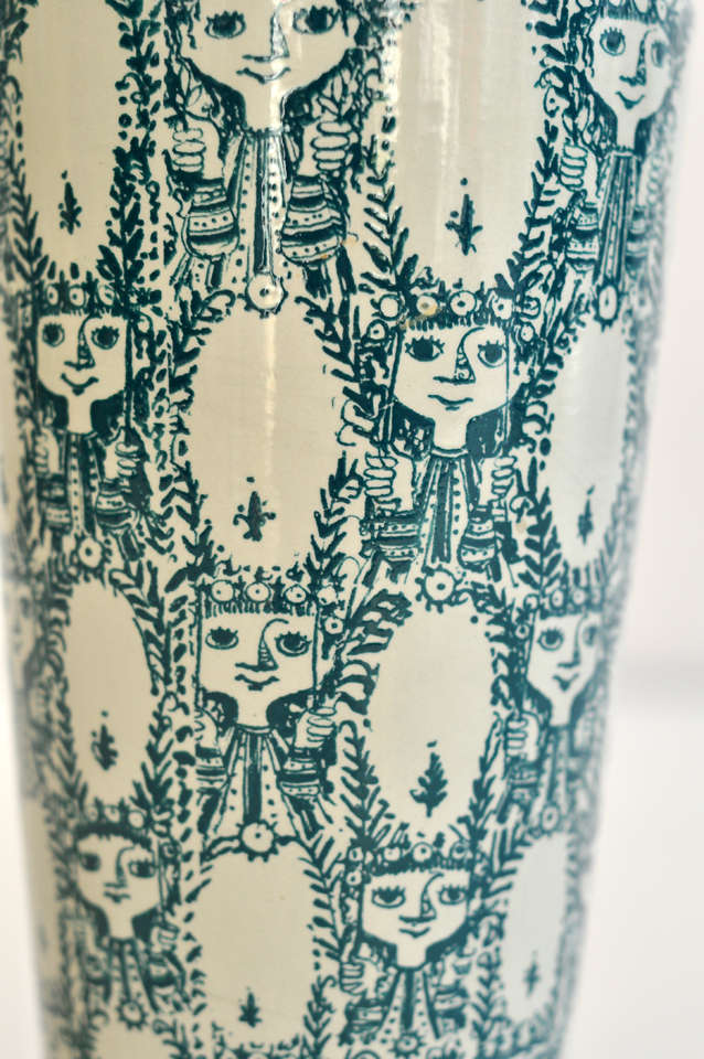Jugendstil Vase by Bjorn Wiinblad For Sale