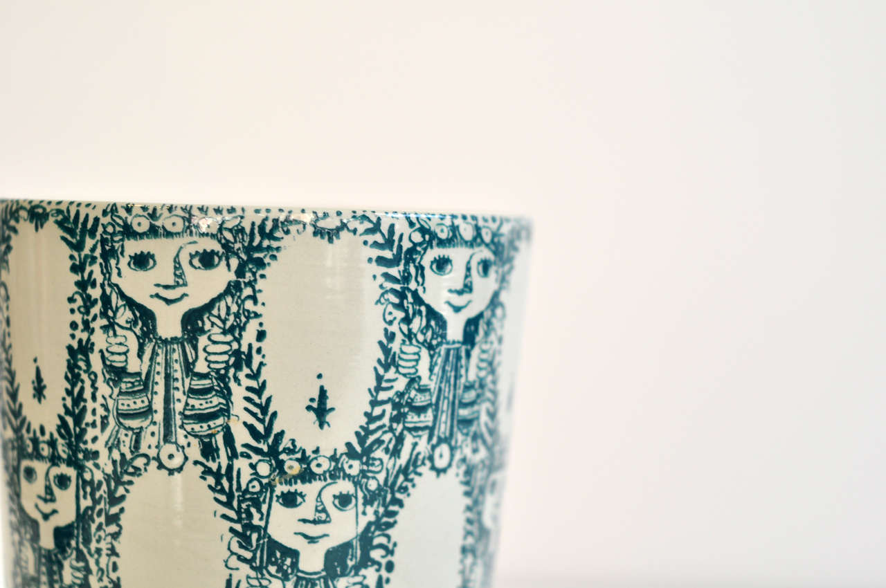 Danish Vase by Bjorn Wiinblad For Sale