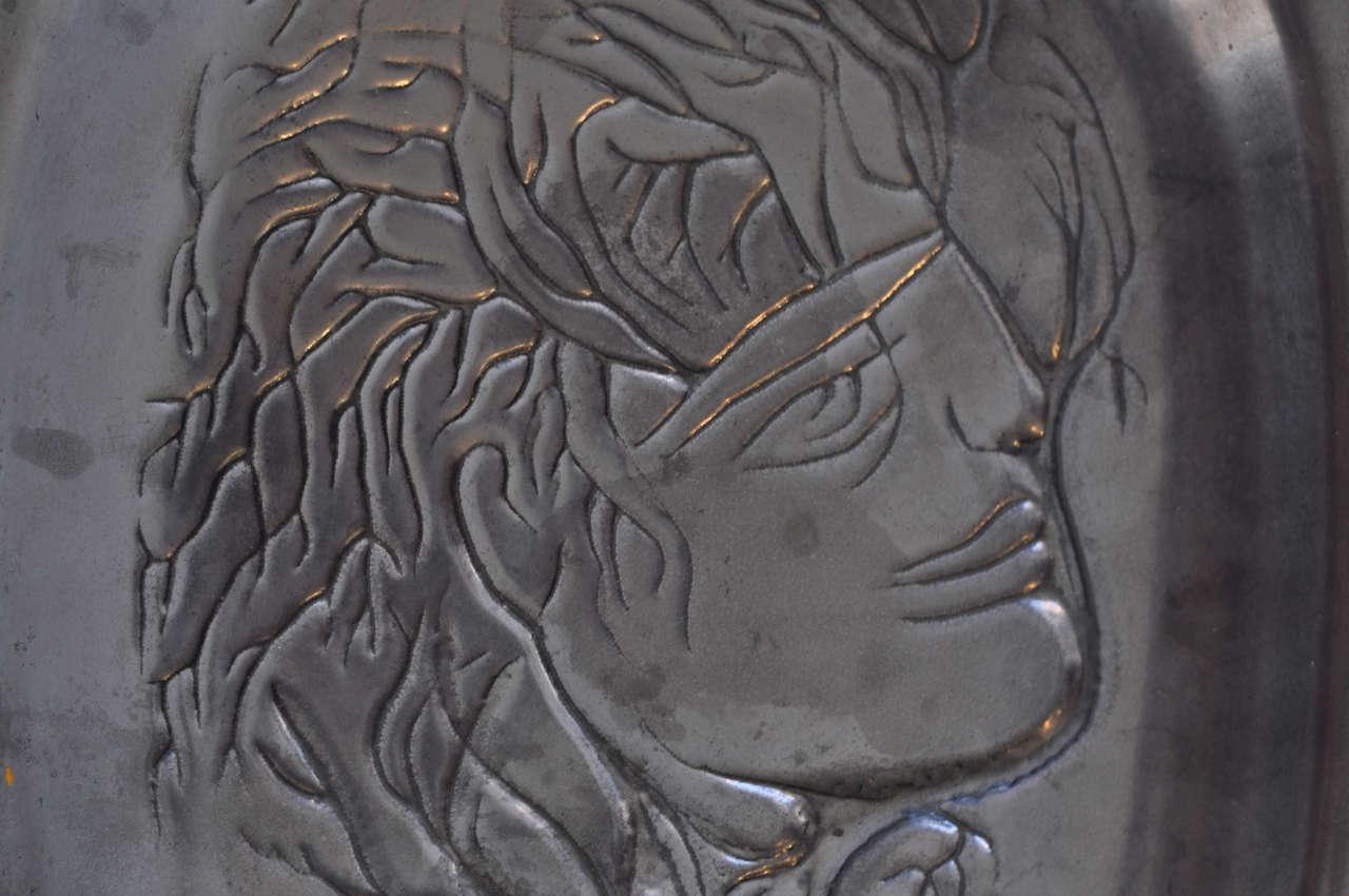 Ceramic plaque by Jean Marais 3