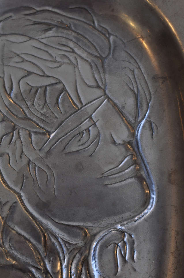 Ceramic plaque by Jean Marais 6