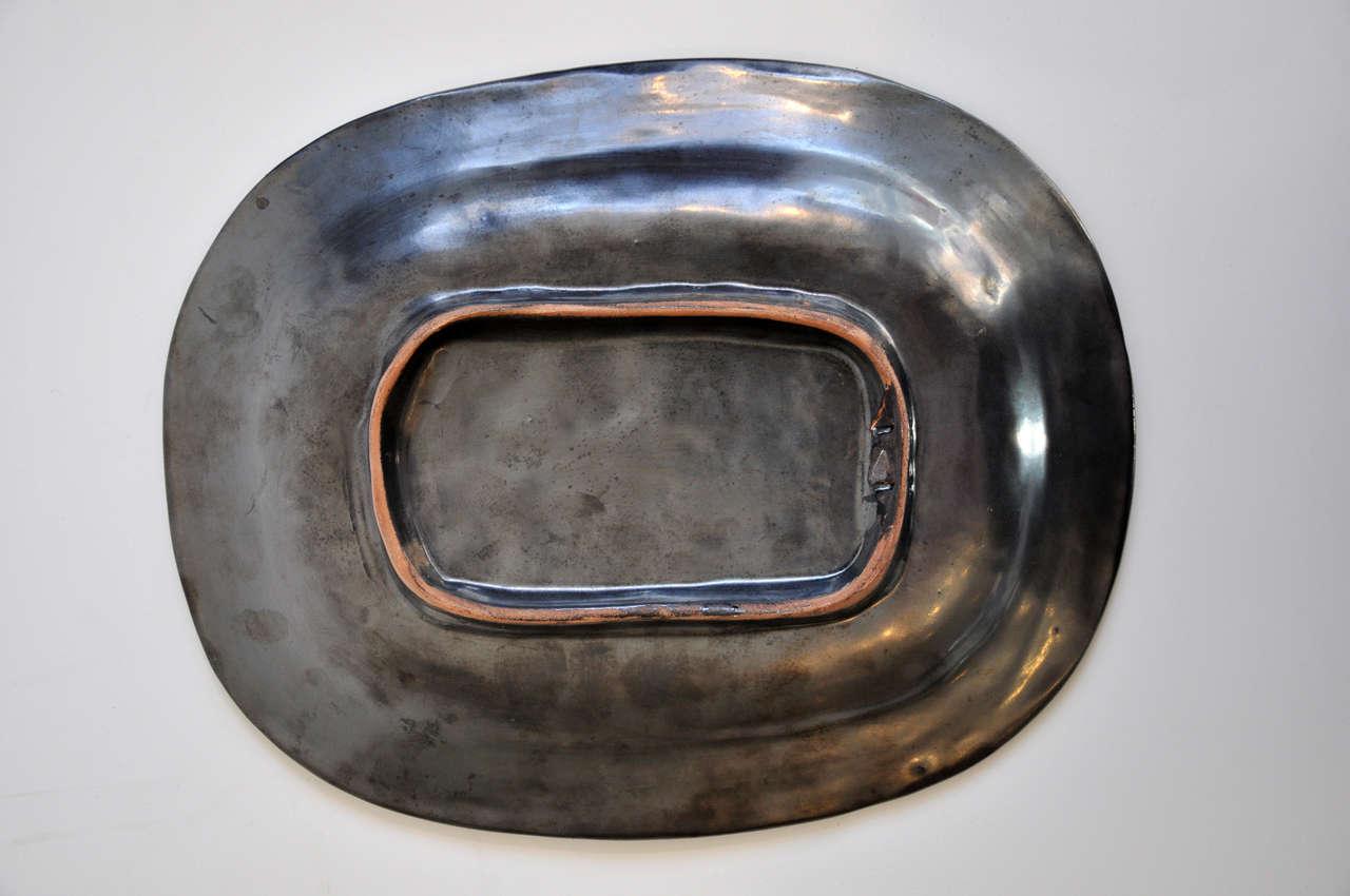 Ceramic plaque by Jean Marais 9