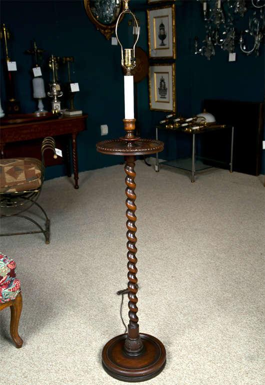 Barley Twist Floor Lamp For Sale At 1stdibs