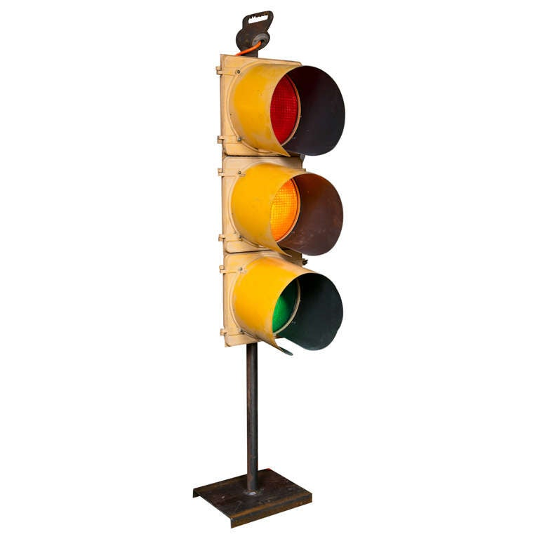 Vintage Traffic Light At 1stdibs