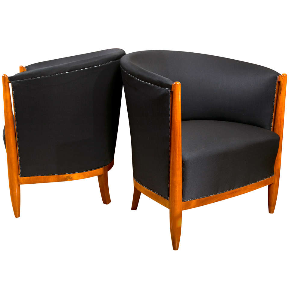 Genial French Art Deco Tub Chairs For Sale