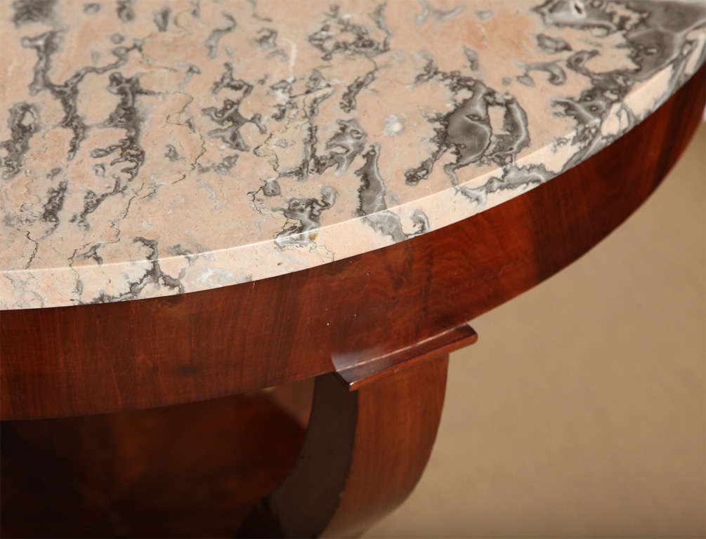 Marble 19th Century French Centre Table For Sale