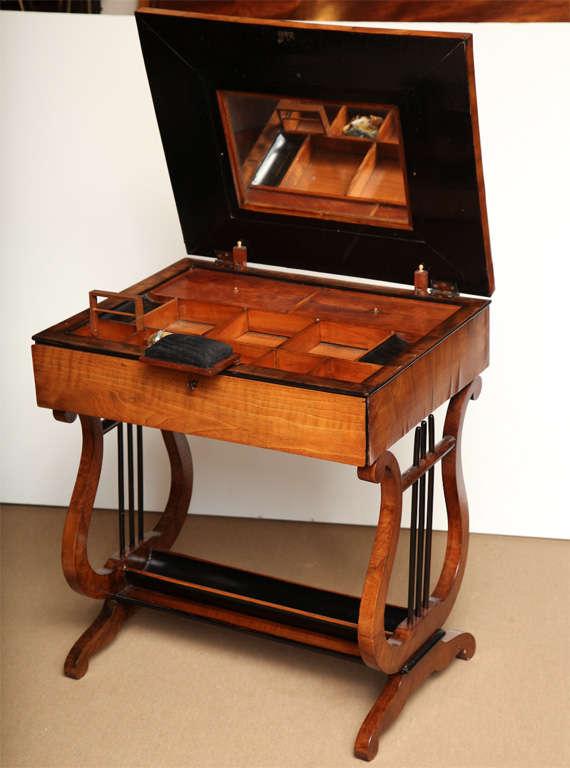 viennese work table for sale at 1stdibs. Black Bedroom Furniture Sets. Home Design Ideas