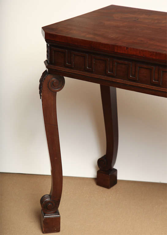 Early 19th Century Irish Console In Excellent Condition For Sale In New York, NY