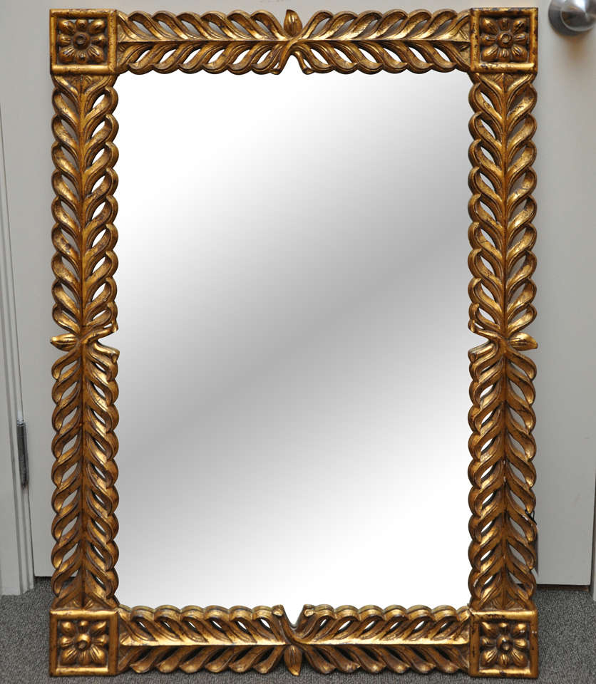 Hand Carved Parat Mirror · Https://shard1.1stdibs.us.com/archivesE/1stdibs/