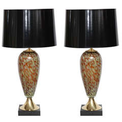 Table Lamps, Murano, Italy