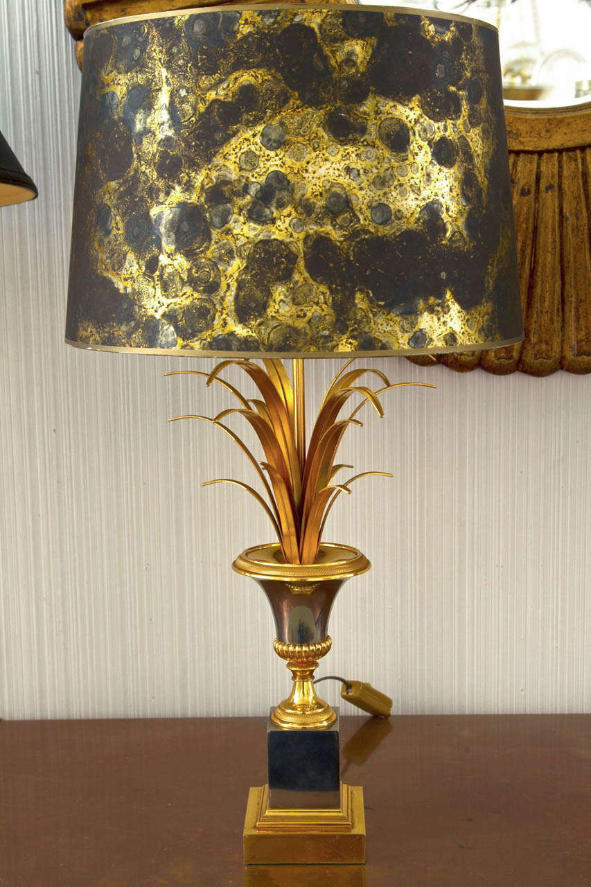 Vase Roseaux Table Lamp In Good Condition For Sale In Mt Kisco, NY