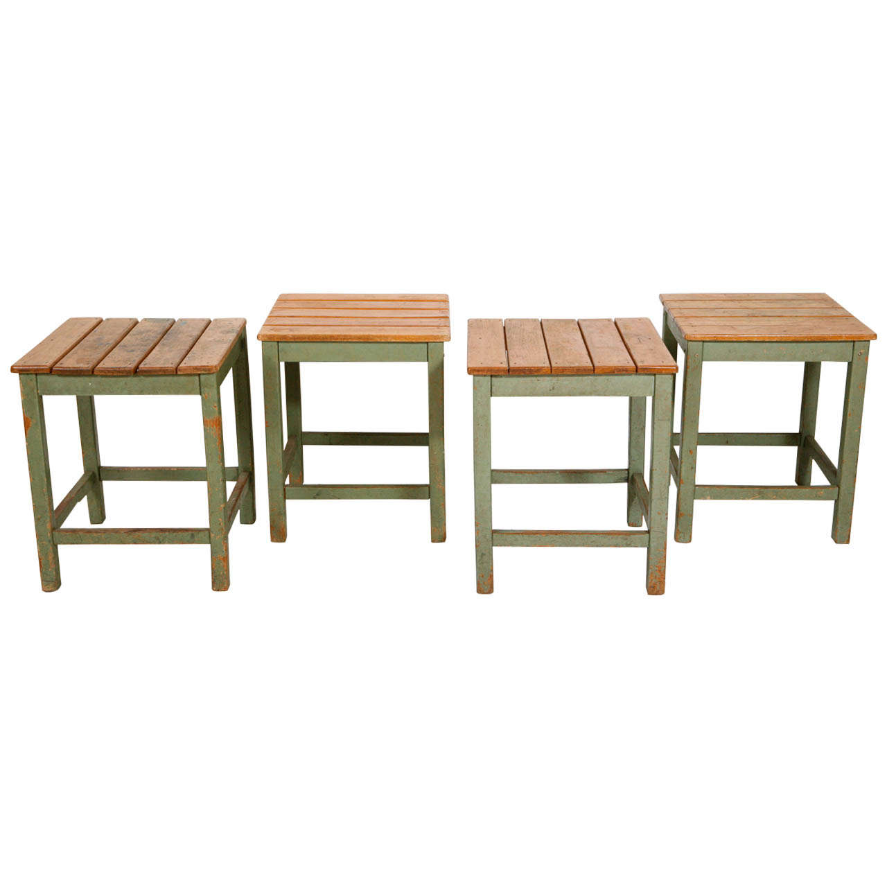 Farm Table Stools Side Tables Four Available At 1stdibs