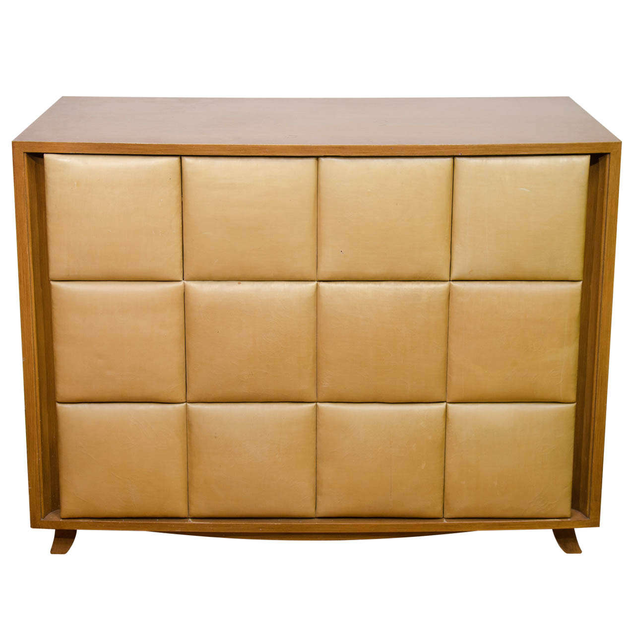 Gentil An Art Deco Chest Of Drawers By Gilbert Rohde For Herman Miller For Sale