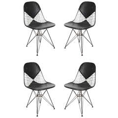 """Set of Four Mid Century """"Bikini"""" Chairs by Eames for Herman Miller"""
