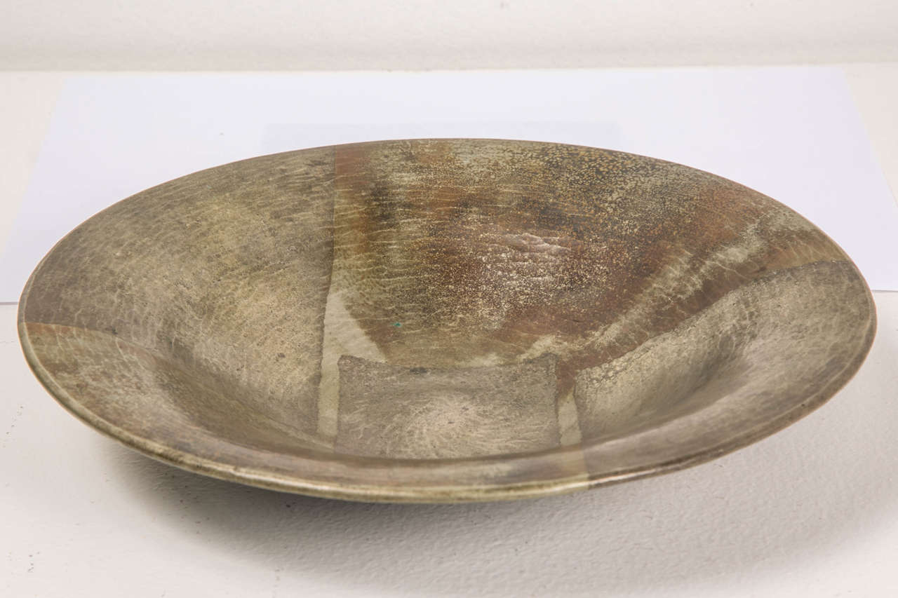 French 1920s Art Deco Copperware Bowl by Jean Dunand For Sale