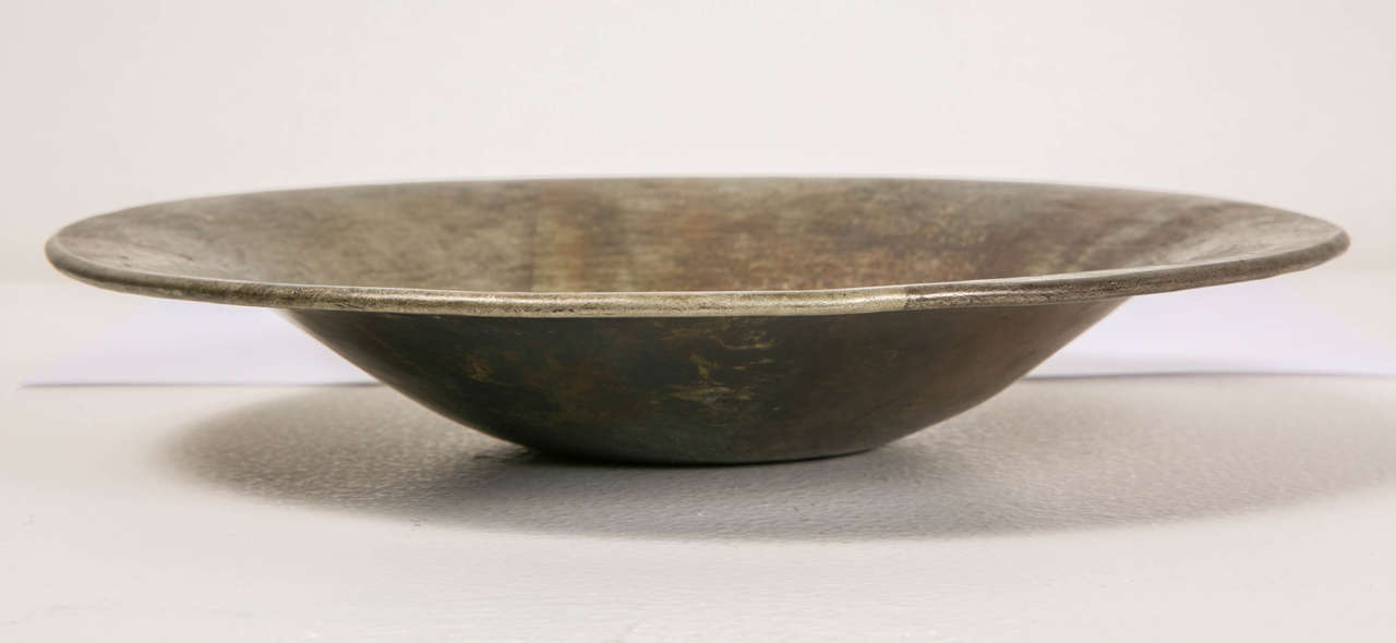 1920s Art Deco Copperware Bowl by Jean Dunand In Good Condition For Sale In Paris, FR