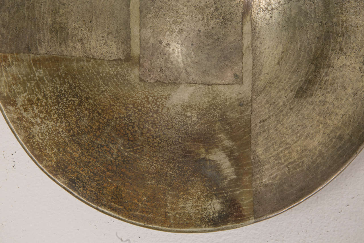 1920s Art Deco Copperware Bowl by Jean Dunand For Sale 1