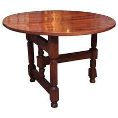 Late 18th Century French Walnut Wine Table, circa 1790