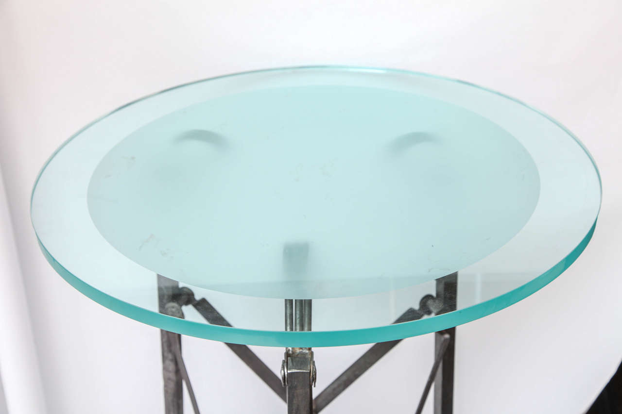 Early 20th Century 1920s Art Deco Architectural Table For Sale