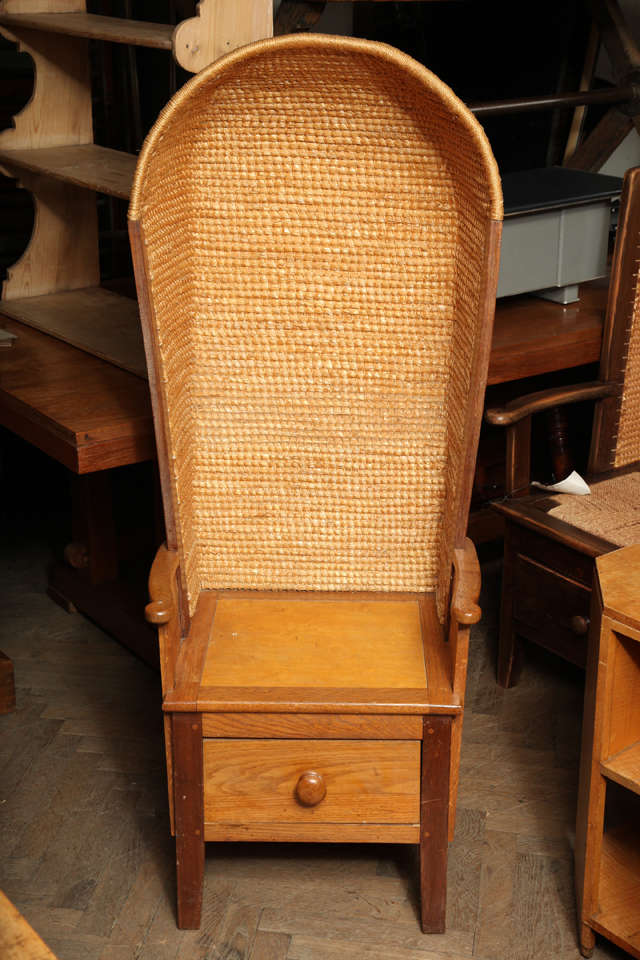 Hooded Orkney Chair At 1stdibs
