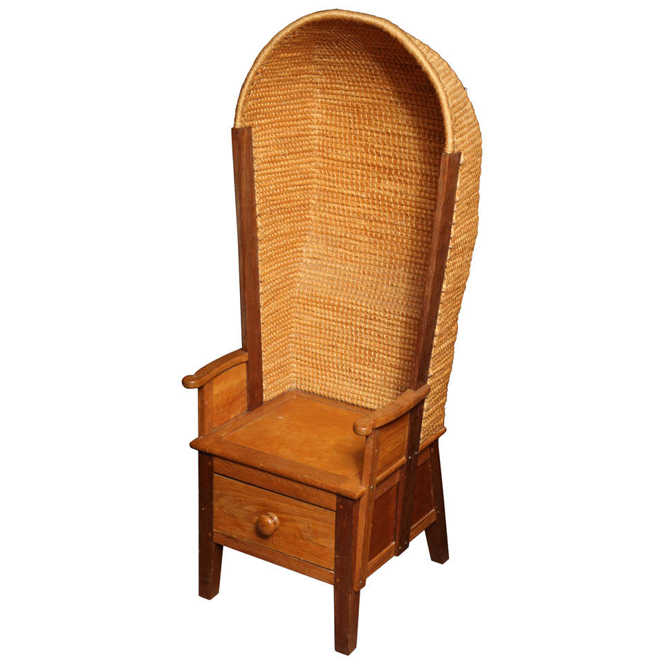 Hooded Orkney Chair For Sale