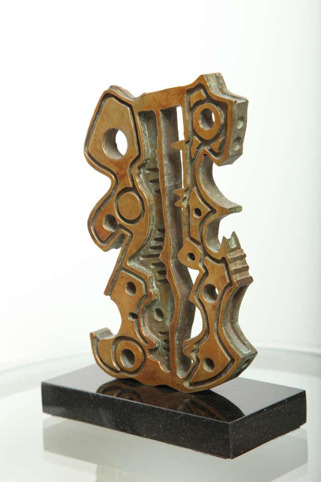 """Anthony Quinn """"Turkish Dancer"""" Bronze Maquette, 1991 4"""