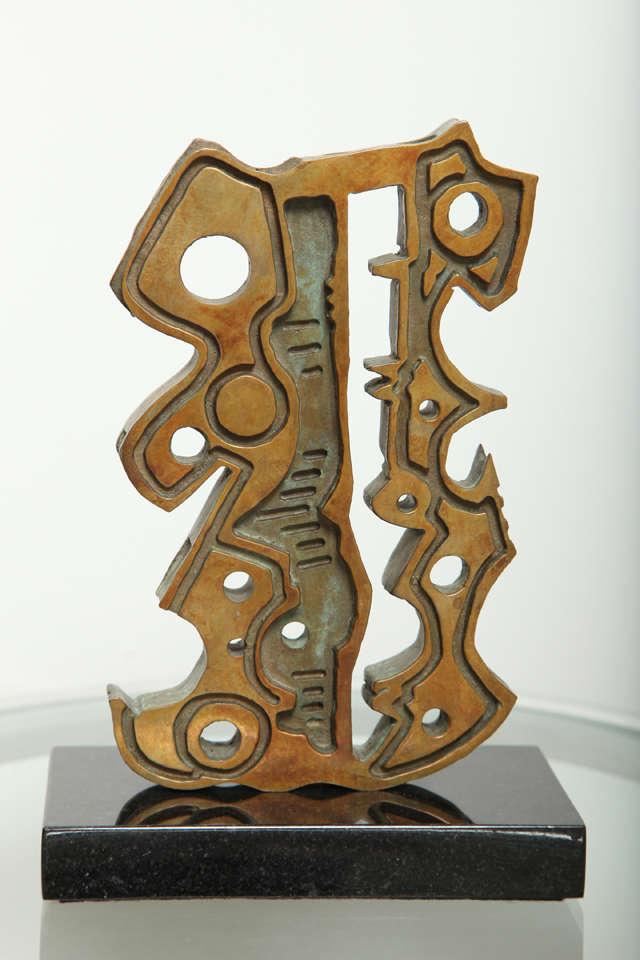 """Anthony Quinn """"Turkish Dancer"""" Bronze Maquette, 1991 5"""