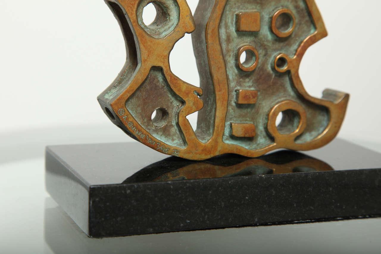 """Anthony Quinn """"Turkish Dancer"""" Bronze Maquette, 1991 8"""